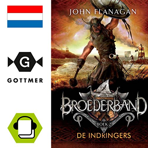 De indringers audiobook cover art