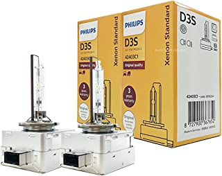 Philips Automotive by ALI PHILIPS OEM 4300K D3S Bulbs 42403C1 35W DOT Germany by ALI - Pack of 2