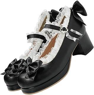 Holibanna Mary Jane Vrouwen Schoenen Met Dikke Hak Gesp Riem Jurk Pomp Schoenen Loafer Leren Schoenen Lolita Schoenen