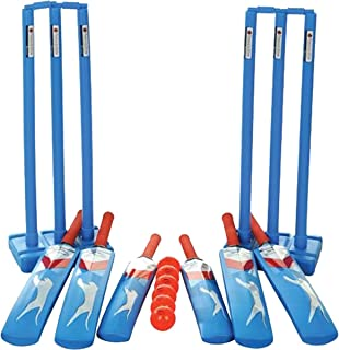 slazenger plastic cricket set