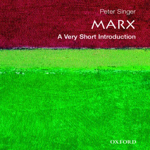 Marx: A Very Short Introduction audiobook cover art