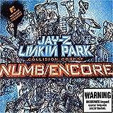 Jay-Z & Linkin Park Numb/Encore Póster de álbum de música popular individual Pintura en lienzo Póster de arte Impresión de pared del hogar Decoración de la sala de estar -60x60 cm Sin marco