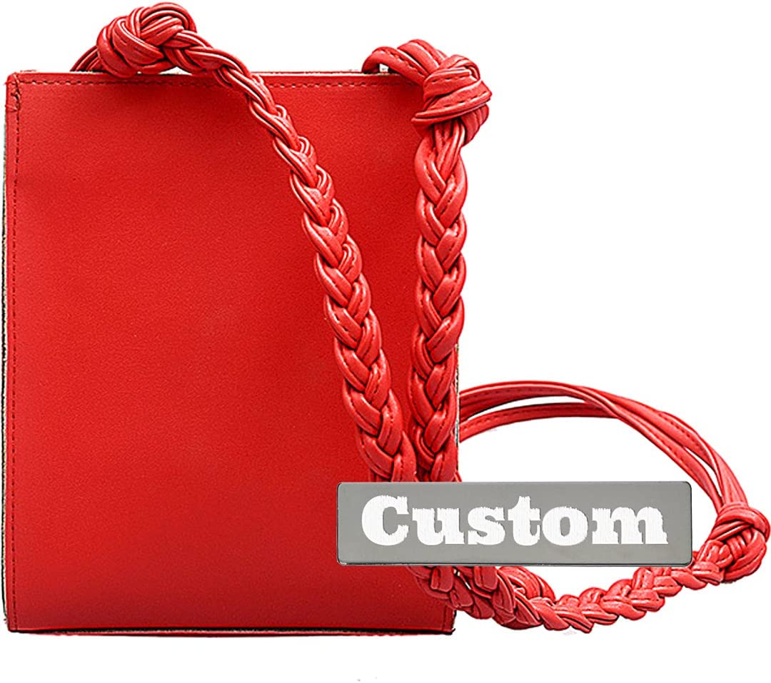 Max 56% OFF Personalized Custom Name Over item handling Handbags Small Yellow Crossbody O Purse