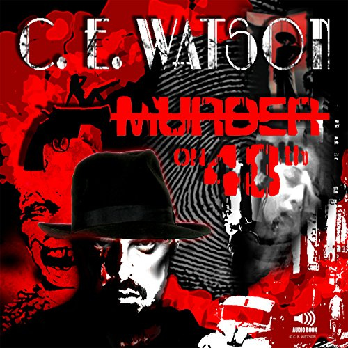 Murder on 48th audiobook cover art