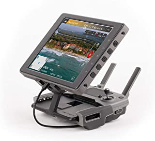 PGYTECH Crystalsky Mounting Bracket Controller Monitor Bracket Clip Holder Aluminum Compatible with Mavic 2/Mavic AIR/Mavi...
