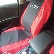 Lupex Shop N.BS Sitzbez/üge Seat Leon 3A Serie zweifarbig schwarz dunkelblau