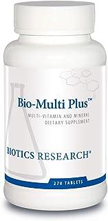 Biotics Research Bio Multi Plus Multivitamin, Chelated Minerals, Emulsified Fat Soluble Vitamins, High anti...