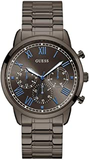 Guess Mens Quartz Watch, Analog Display and Stainless Steel Strap W1309G3