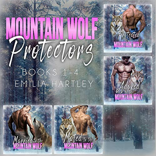 Mountain Wolf Protectors Complete Series: Books 1 - 4 Titelbild