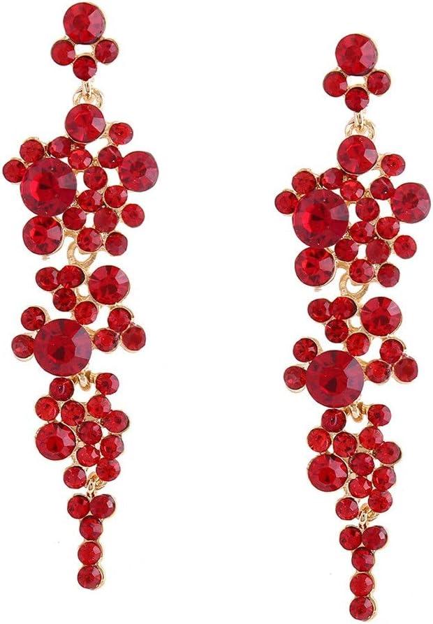 JUNJIAGAO-Kitchen Omaha Mall Earrings European and Ladies American T cheap Luxury