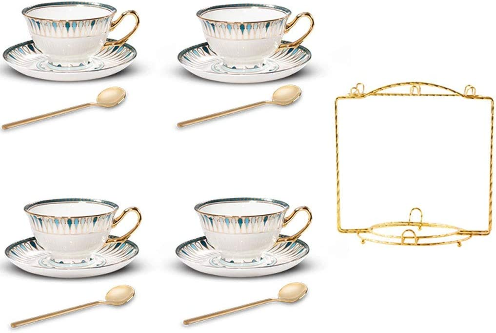 Coffee Tea Cup British Afternoon with Set Holder Sales Indianapolis Mall Lu