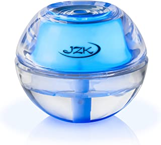 Humidifier by JZK, Air Cool Mist Humidifiers are Perfect to Purify Any Personal Bedroom, Car, Desk or Babies Room, Comes with Filter and Easy to use on Any Desk or for Travel! (Large, Blue)