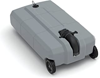 SmartTote2 RV Portable Waste Tote Tank - 2 Wheels - 35 Gallon -Thetford 40503