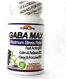 Gabamax 'Gabatrol Powder' 60 Grams Combo with ZHL Multi-Use Measuring Spoon by purelife