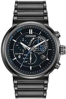 Citizen Eco-Drive Proximity Perpetual Black Chronograph Mens Watch BZ1005-51E