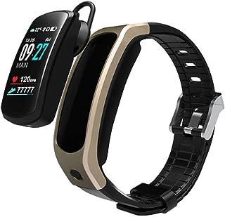 SVNA Pulsera Bluetooth Auriculares Parlante Relojes Inteligentes Banda Android iOS Monitor de frecuencia cardíaca Reloj In...