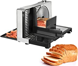 Semi Automatic Meat Slicer, Home Electric Foldable Meat Planer Mutton Rolls Meats Grinder Machine, for Fruit Vegetable Che...