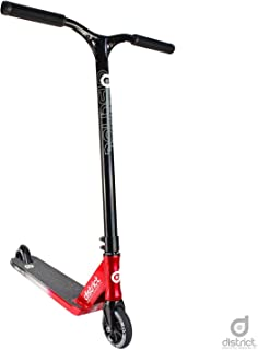 District C152 Pro Scooter (Black/Silver/Red)