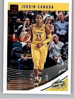 2019 Donruss WNBA #4 Jordin Canada Seattle Storm Official Panini Basketball Card