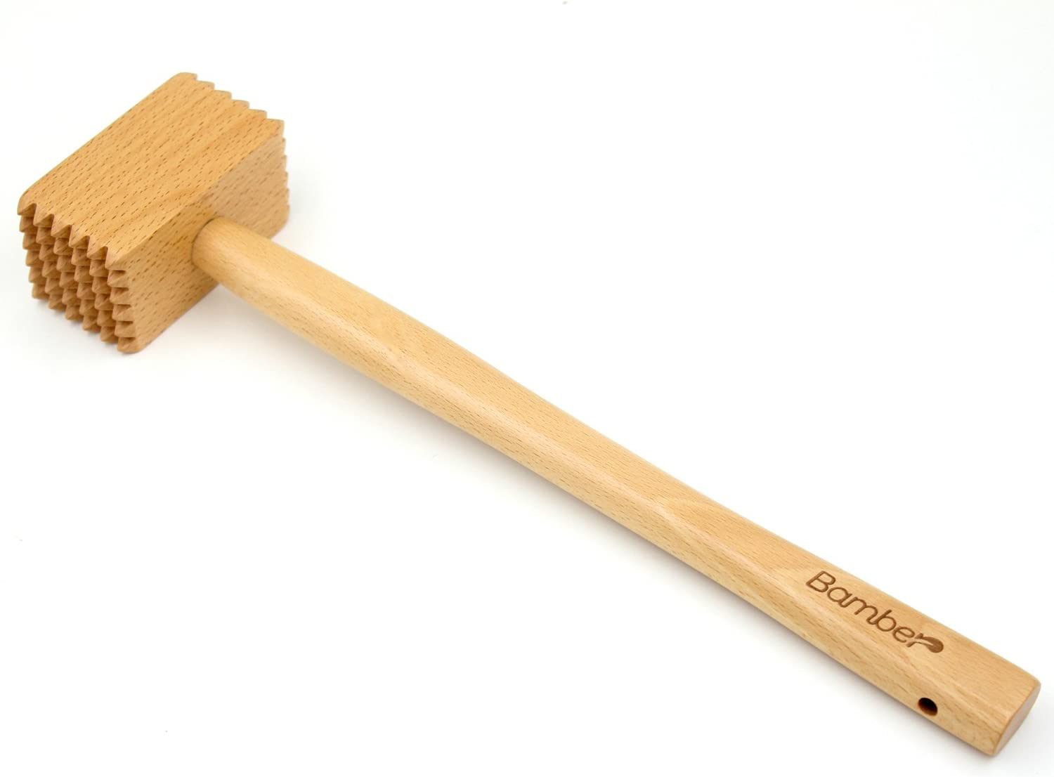 Bamber Wood Meat Max 54% OFF Mallet Tenderizer Direct stock discount Wooden P Chicken Poultry Tool