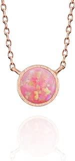 opal rock necklace