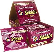 Honey Stinger, Chew Energy Pomegranate Passion Fruit Box 12 Count Organic, 21.6 Ounce