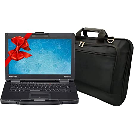 Panasonic Toughbook CF-54 Laptop PC Bundle with Laptop Bag, Intel i5-7300U 2.6GHz, 32GB RAM, 2TB SSD, Windows 10