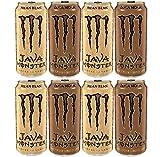 Monster Energy Drink, Java Tasters Edition, Mean Bean Loca Moca, Variety Pack, 8 Count
