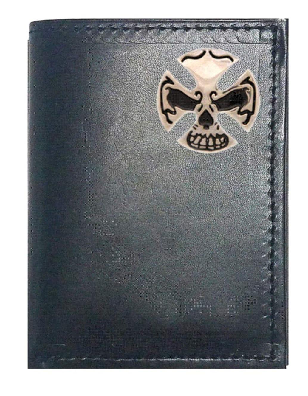 寺院手書き主人Genuine Texas Brand ACCESSORY メンズ US サイズ: Trifold カラー: ブラック