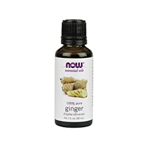 NOW FOODS Ginger Oil 100% Pure, 1 FZ