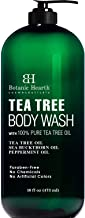 BOTANIC HEARTH Tea Tree Body Wash, Helps with Nails, Athletes Foot, Ringworms, Jock Itch,..