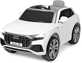 Costzon Ride on Car, Licensed Audi Q8, 12V Battery Powered Electric Vehicle w/2 Motors, 2.4G Remote Control, LED Lights, M...