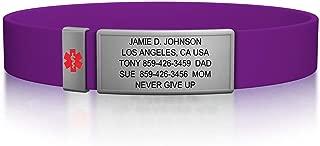 Best medical id bracelets Reviews