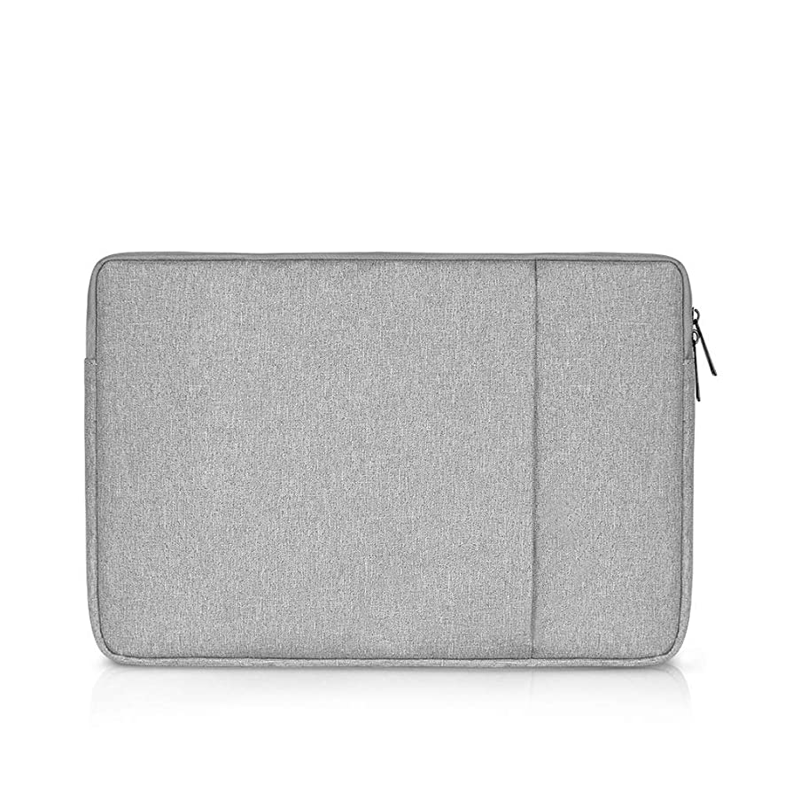 BAKUN Shockproof 15.6 inch Tablet/Laptop Sleeve Case Cover Compatible 15-15.6 Inch MacBook Pro, Surface Pro, ThinkPad X1, Notebook Computer, Spill-Resistant Protective Laptop Case Bag(Grey)