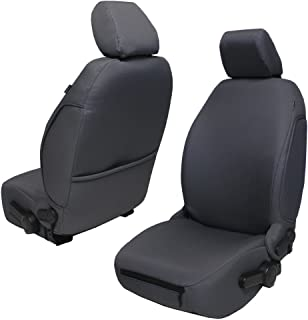 Bartact JKBC2013FPG - 2013-18 Base Line Performance Front Seat Covers (Pair) Jeep Wrangler JK and JKU (Graphite)