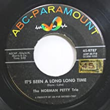The Norman Petty Trio 45 RPM It''s Been A Long Long Time / Almost Paradise