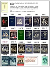 Set of 23 Early Spalding's Football Guides