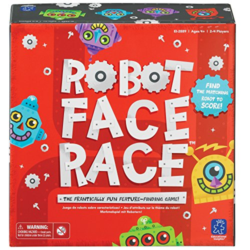 Learning Resources Robot Face Race Farb & Merkmaiel,