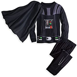 Darth Vader Costume PJ PALS for Boys Black