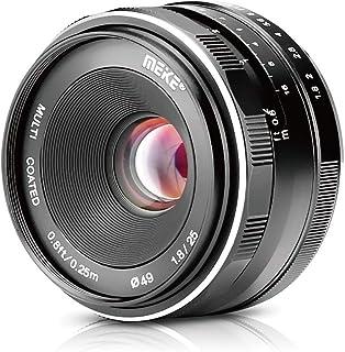 Meike Lente gran angular de 25 mm f / 1.8 gran apertura lente de enfoque manual para Olympus Panasonic Micro 4/3 montaje cámara sin espejo