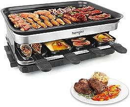 Raclette Grill con 8 Mini Sartenes Revestimiento