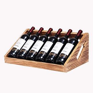 Casier À Vin Décoration Casier À Vin Couleur Naturelle Créatif Moderne Minimaliste Présentoir Porte-Bouteille De Vin Rack ...