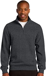 Sport-Tek 1/4-Zip Sweatshirt>S Graphite Heather ST253