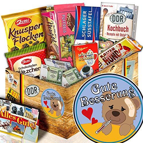 Gute Besserung / DDR Schoko Box / gute Besserung Geschenk für Männer