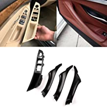 Window Switch Armrest Panel Kit, Door Handle For BMW 5 Series Inner Door Armrest Panel Handle Outer Trim Cover Upgraded Replacement (Fits:520 523 525 528 530 535 2010-2016)
