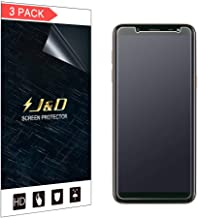 J&D Compatible for 3-Pack Galaxy J6 2018 Screen Protector, [Anti-Glare] [Anti-Fingerprint] [Not Full Coverage] Matte Film Shield Screen Protector for Samsung Galaxy J6 2018 Matte Screen Protector