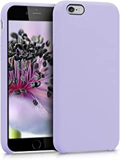 kwmobile TPU Silicone Case for Apple iPhone 6 / 6S - Soft Flexible Rubber Protective Cover - Lavender