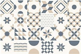 Ambiance-Live Azulejos hidráulicos Adhesivos para Pared&