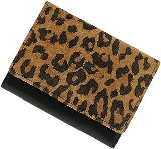 極小財布 ピッグスエード バイカラー BECKER(ベッカー)日本製 ミニ財布/三つ折り