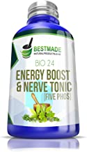 Five PHOS 6X Energy Boost & Nerve Tonic Max Potency, Feel Alive Again in Days with 5 Potent Minerals for Nervous Fatigue, Anxiety, Depression - Aids Memory, Boosts Cognitive Function, Restful Sleep